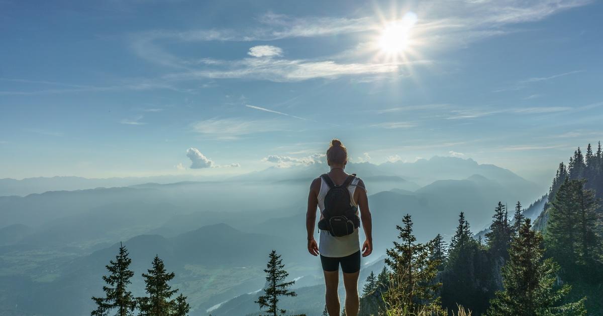 人生像登山,你唯一能做的是堅持