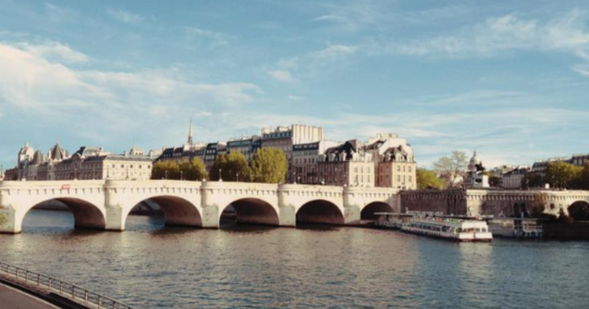 「天是白的,而雲是黑的」巴黎的愛情,新橋的戀人