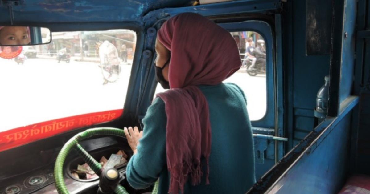 盼望性別平權成為普世價值!加德滿都的女駕駛們