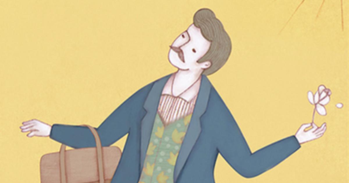 【塔羅插畫】愚者牌,開始做一件事需要傻勁