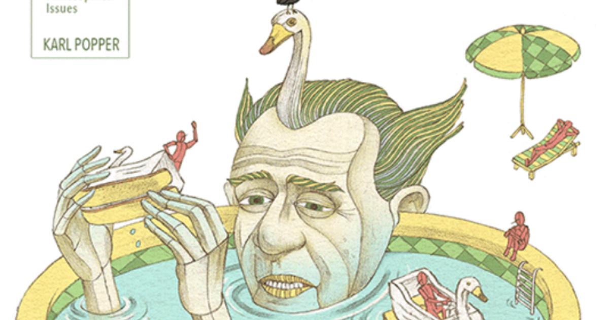 【哲學家插畫】波普:歸納法無法解決世界上所有問題