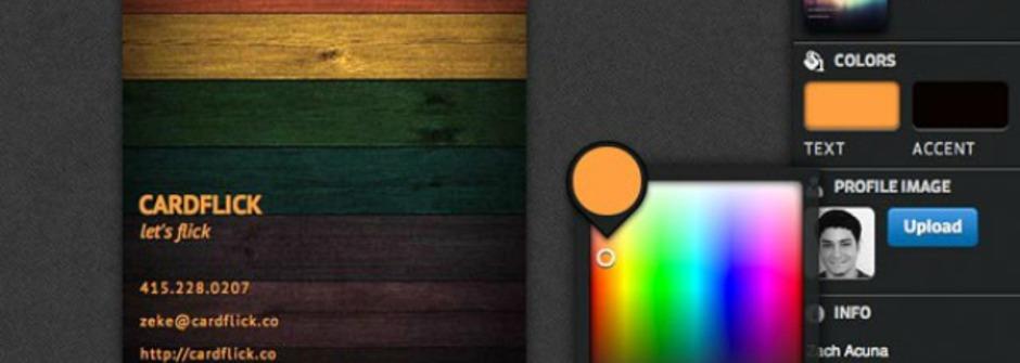 InstaCards – 快速設計個人數位名片