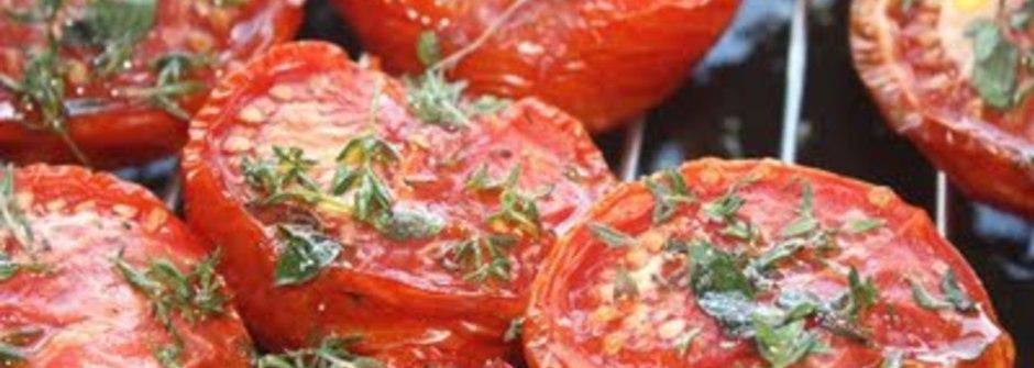美味料理食譜:油封番茄(三立電視台介紹)