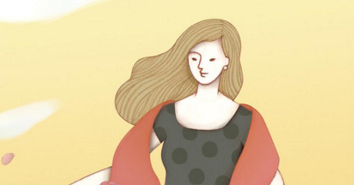 【塔羅插畫】皇后牌,懂得付出的人更有能力