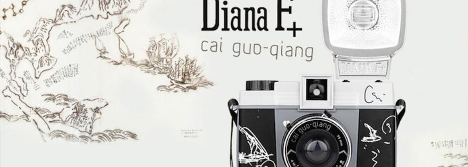 Lomo相機的跨界藝術:Diana F+ x 蔡國強 絢爛登場