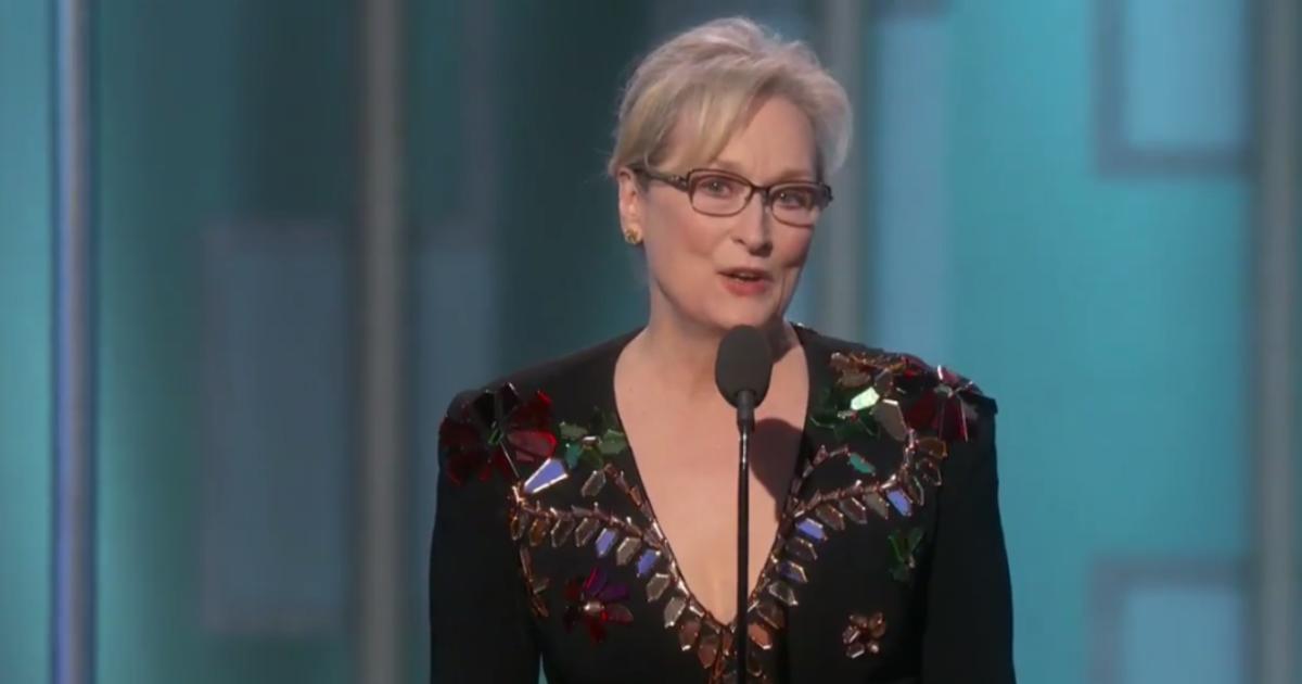 終身成就!梅莉史翠普的金球獎演講:做一個能說話的人,就該為他人發聲