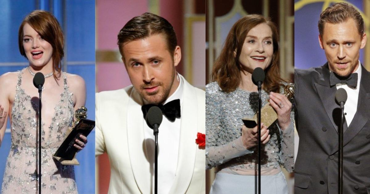 戴維斯、艾瑪史東、雷恩葛斯林!金球獎動人演講:每個努力生活的人,都在修補世界