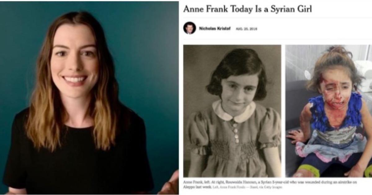 【視野重訊】安海瑟薇捍衛難民:我為美國向你們道歉