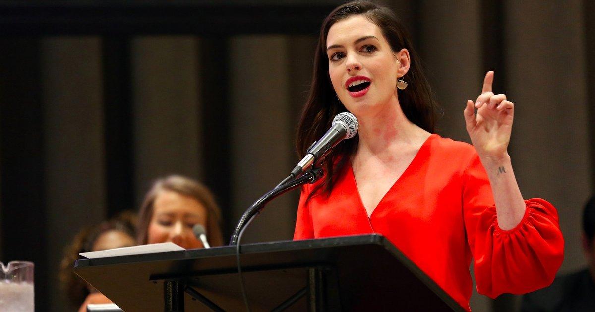 男人該有產假!安海瑟薇的聯合國動人演說:「解放女性束縛,也要解放男性束縛」