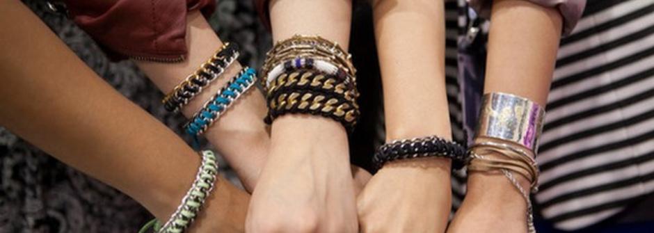【設計DIY】自製金屬皮手環(wrapped chain bracelet)