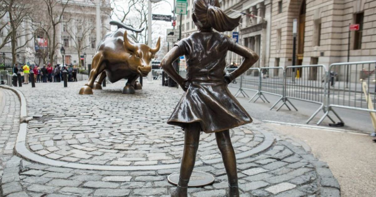 「華爾街公牛」為何想趕走「無畏女孩」?
