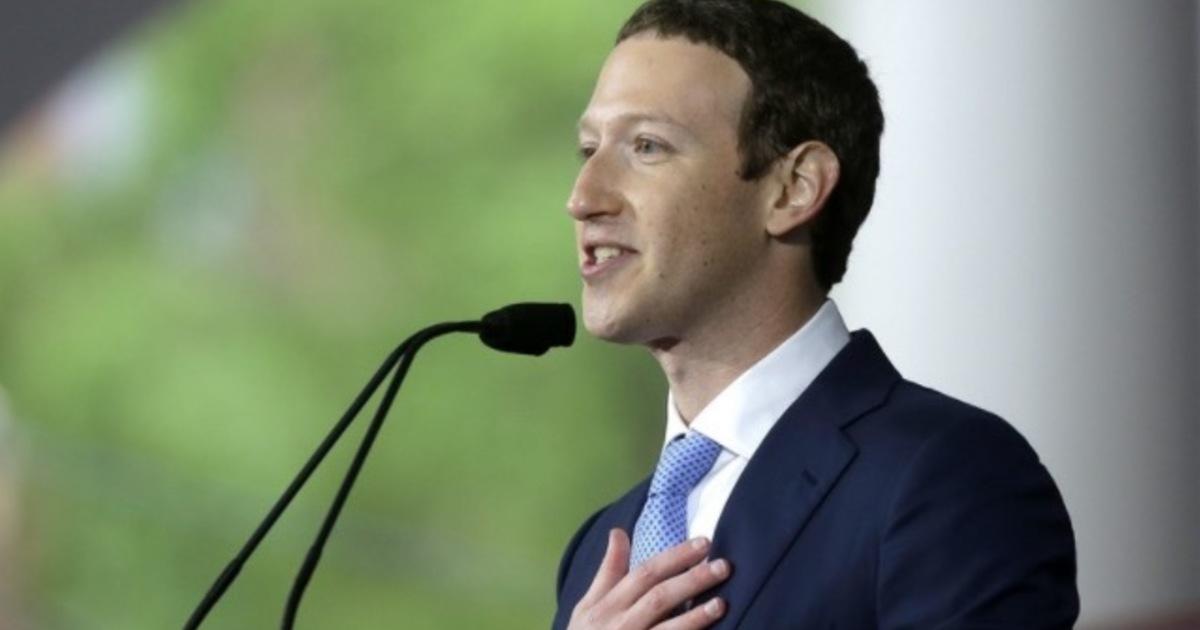 馬克佐克伯的哈佛畢業演說:「我們社會不常偉大,因為我們害怕失敗」
