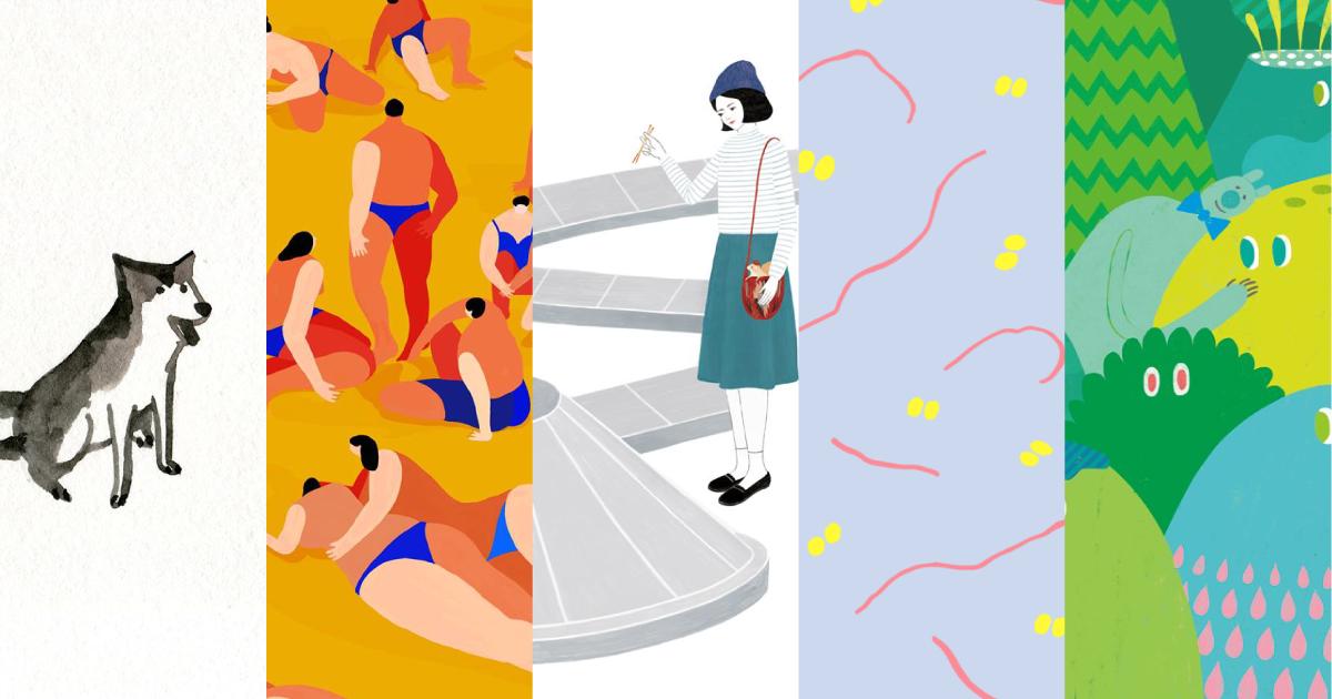 【如果你想】換手機桌布,五個臺灣女性插畫家讓你的桌面與眾不同