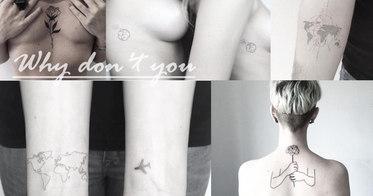 【如果你想】微刺青,推薦你五個風格刺青師 IG 帳號