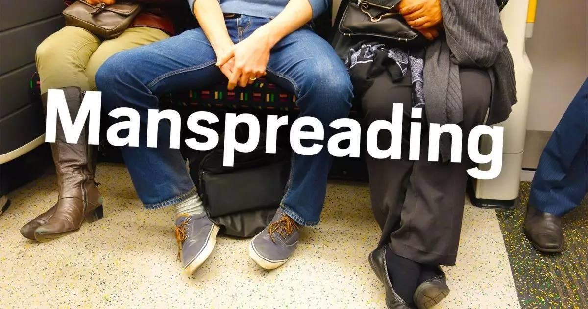 Manspreading 大爺式佔位:男人為何愛在公共空間大開腿?