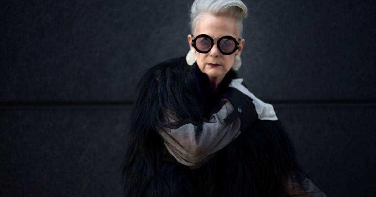 銀髮奶奶的叛逆時尚:我愛穿什麼就穿什麼,你管不了我