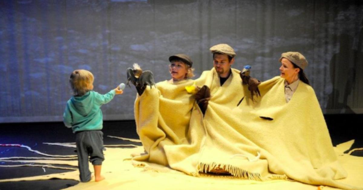 寶寶在劇場,一種新的家庭互動正在誕生
