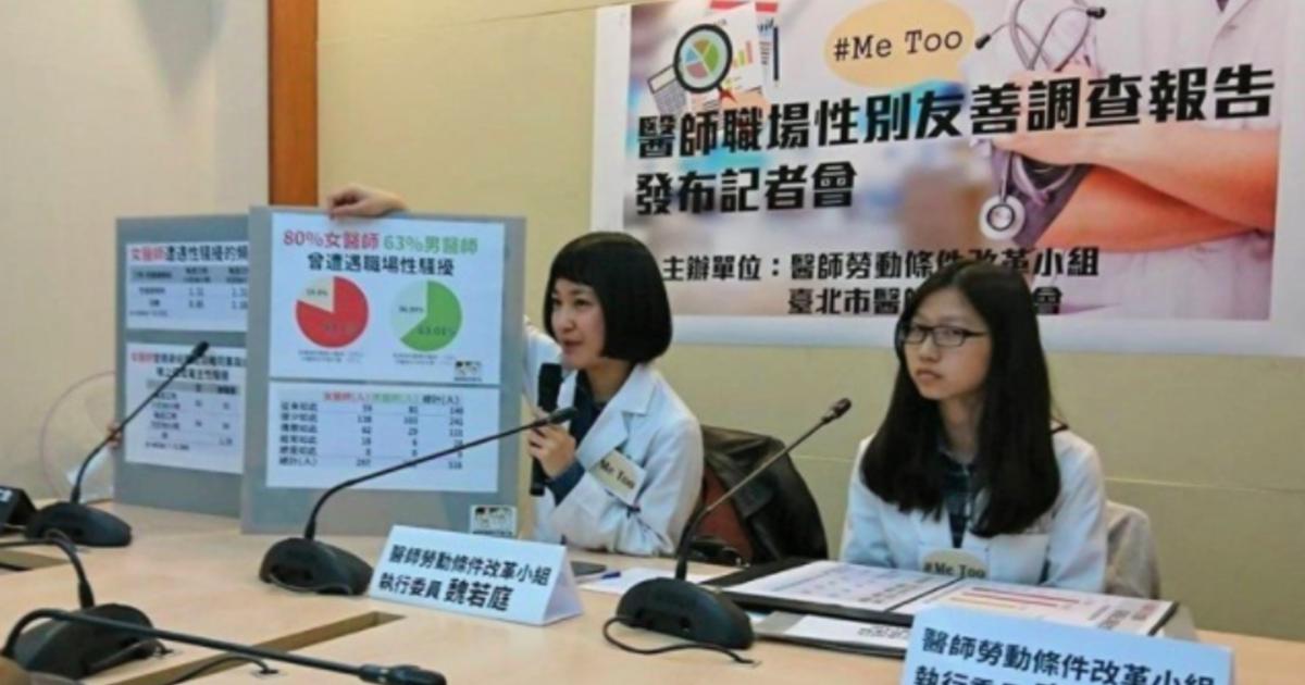 院內無人敢言!55%女醫師曾目睹或受高層性騷擾