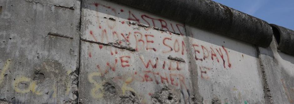 包容東西文化的 德國 柏林圍牆