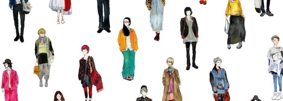 用插畫捕捉街頭時尚的插畫家 – 蘇歆涵