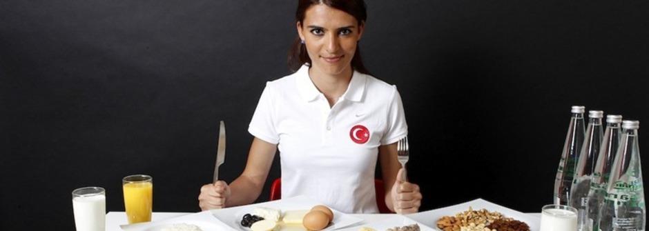 奧運選手的飲食方式