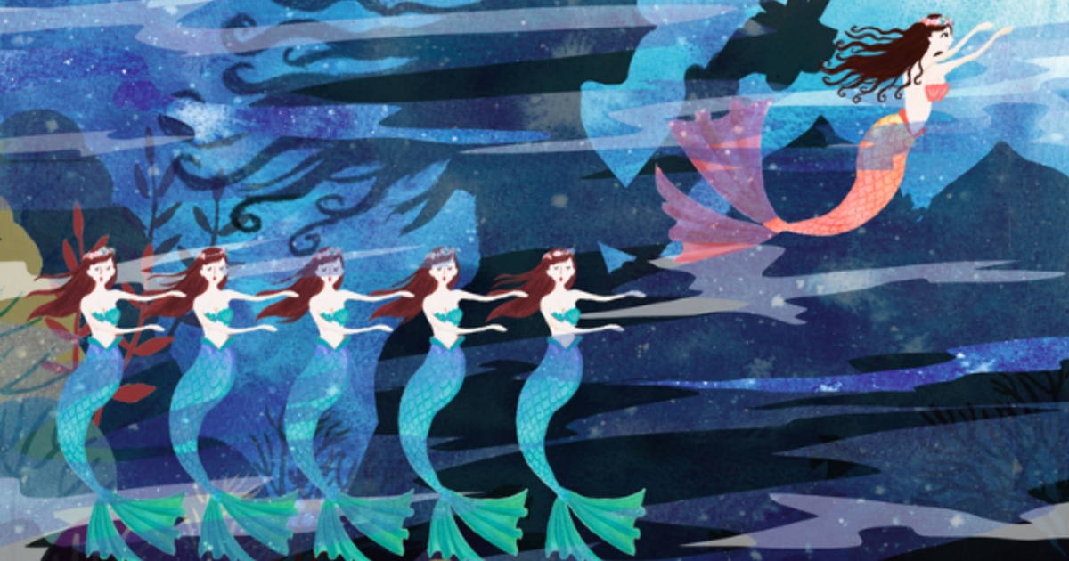 【童話繆思】小美人魚:先愛自己,才能不帶勒索的去愛人