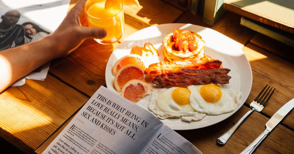 許菁芳專欄|好好吃一頓早餐,即是世界的邏輯
