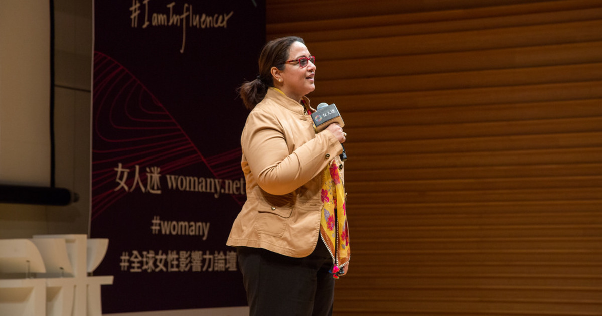 現場直擊 2018 全球女性影響力論壇 Keynote:難不難不重要,重點是敢不敢