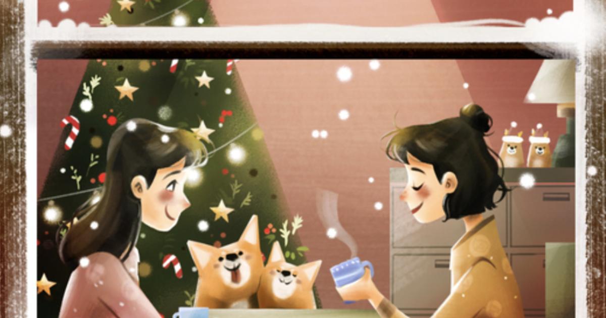 同志聖誕插畫故事:「我想和你有個家,有平凡的愛,吵鬧的幸福」