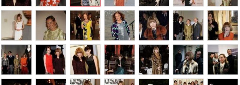 富士比2012年百大最具影響力女性時尚排行榜