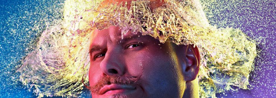 超具衝擊感的水球爆破假髮