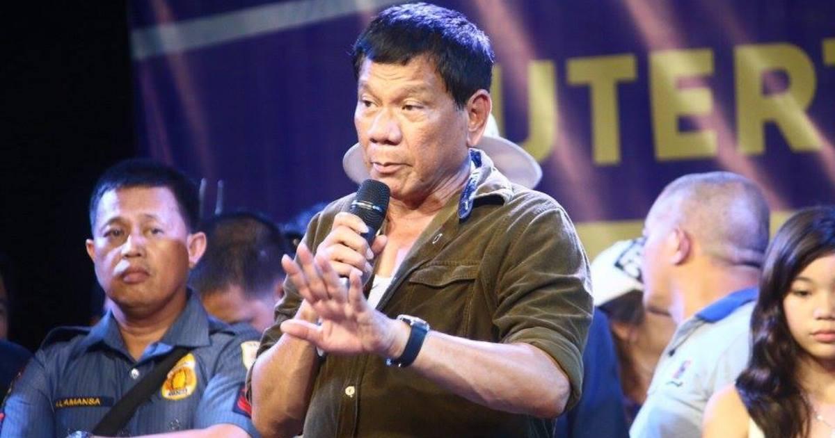菲律賓總統發表仇女言論:「我只會開槍射擊你們的陰道」