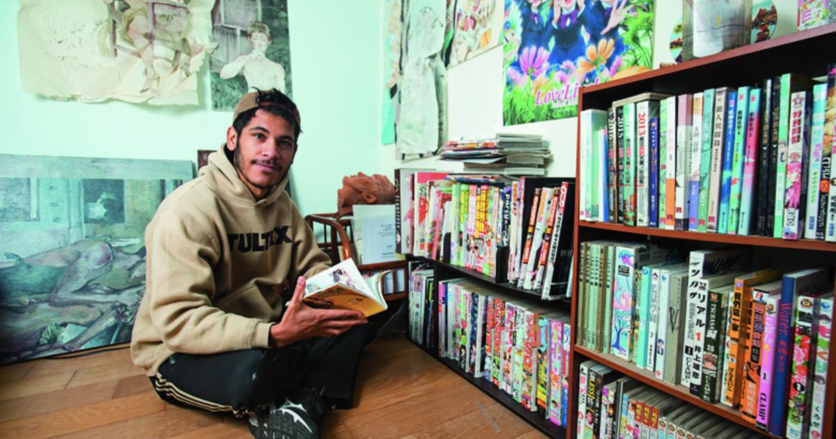 以檳榔西施為題材!專訪巴西漫畫家盧卡斯