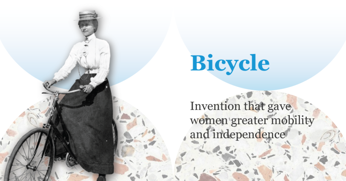 騎單車會導致女人生病?五種帶動時代改變的女性主義物品