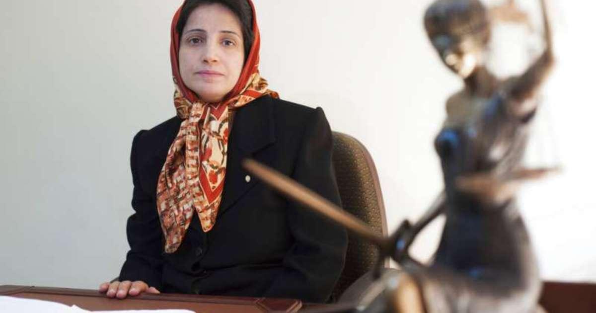 伊朗女律師推解放頭巾,遭判入獄 38 年、鞭刑 148 下