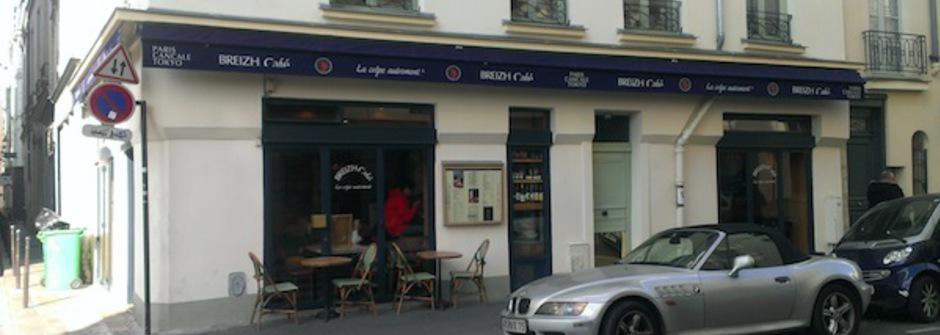 叫我第一名之巴黎法式薄餅店 Breizh Café