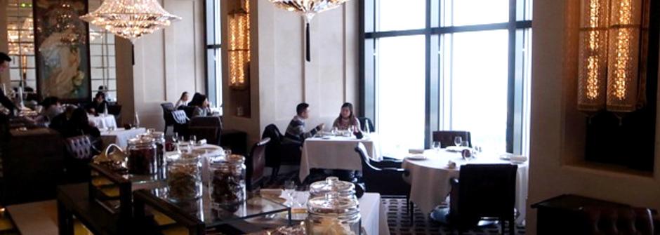 香港 奢華法式餐廳 Caprice(中英對照)