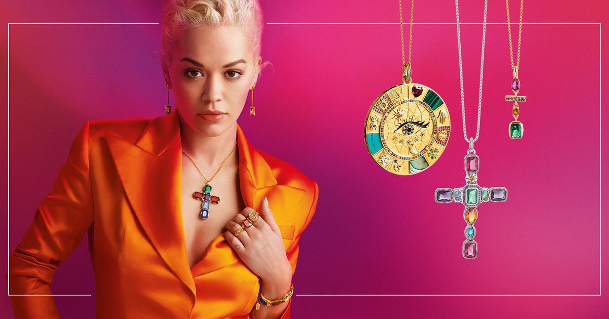 Rita Ora 擔任德國飾品 THOMAS SABO 最新代言人,鼓勵女性展現自我!