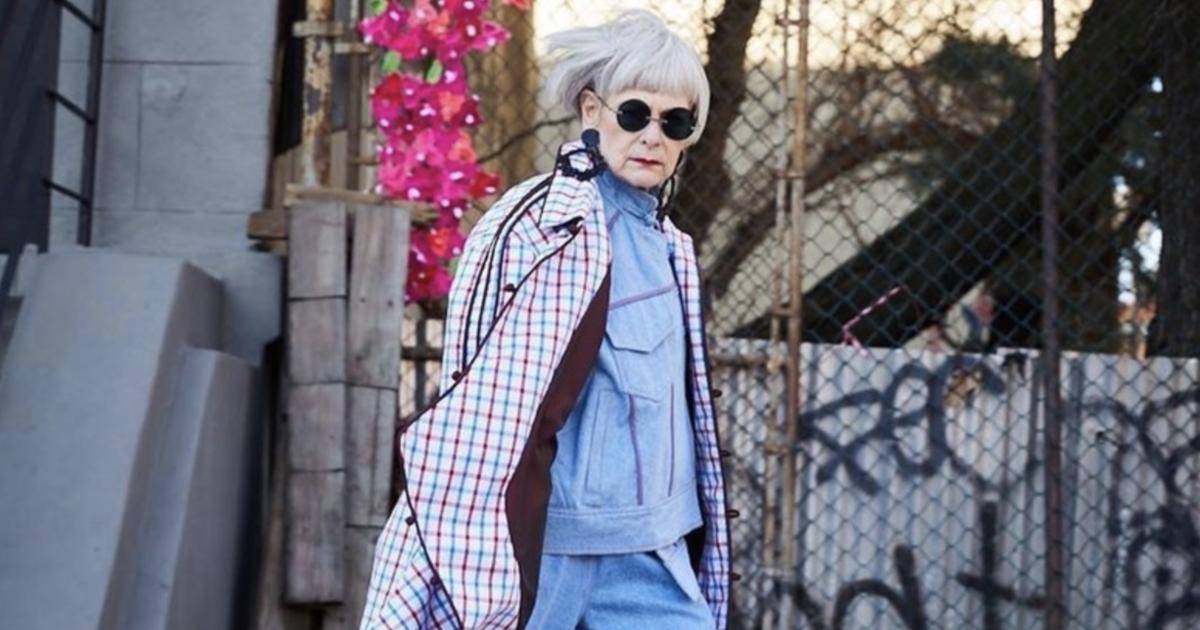 66 歲,66 萬個 IG 追蹤者:Lyn Slater「不小心」用皺紋換來喝采