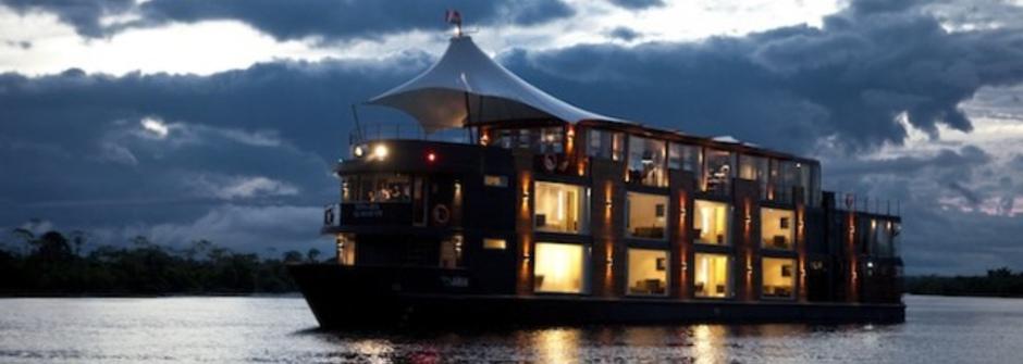 五星級水上景觀飯店 奢華亞馬遜之旅