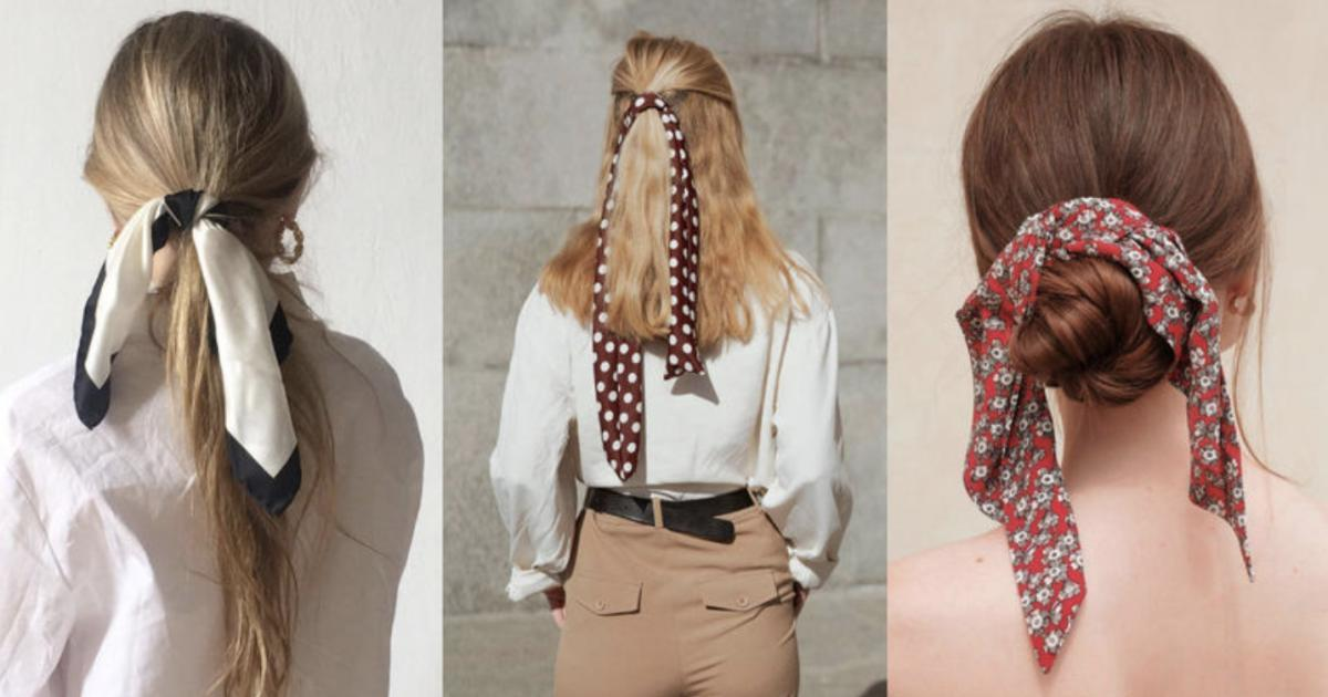 秋天絲巾正夯!精選四款絲巾髮型,讓你仙氣飄飄