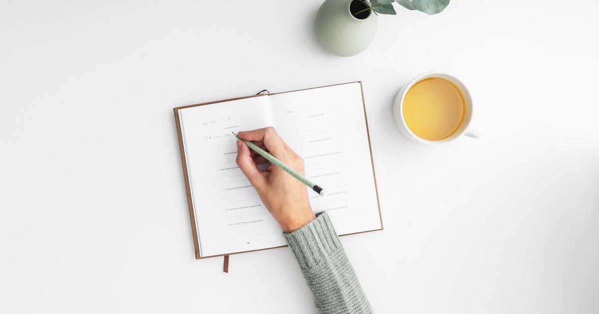 當你心煩意亂時,研究:寫日記,更適合大腦好好思考