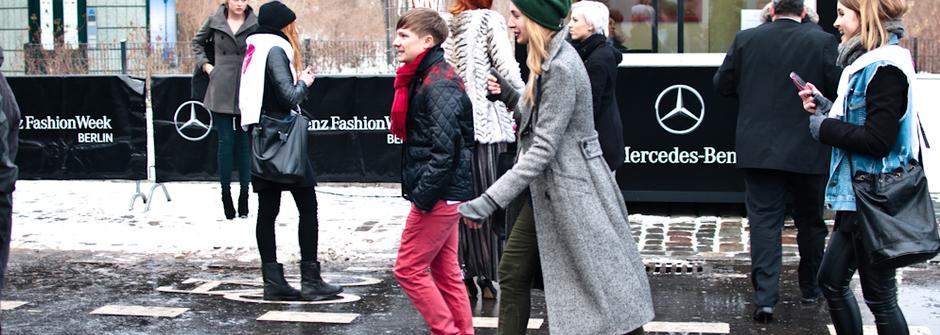 柏林時裝周開幕街拍:女性篇
