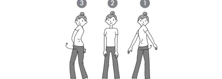 一個動作治好腰痛:腰部悶痛時,這樣做!