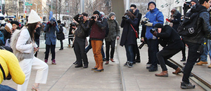 2013 New York Fashion Week A/W 場外街拍