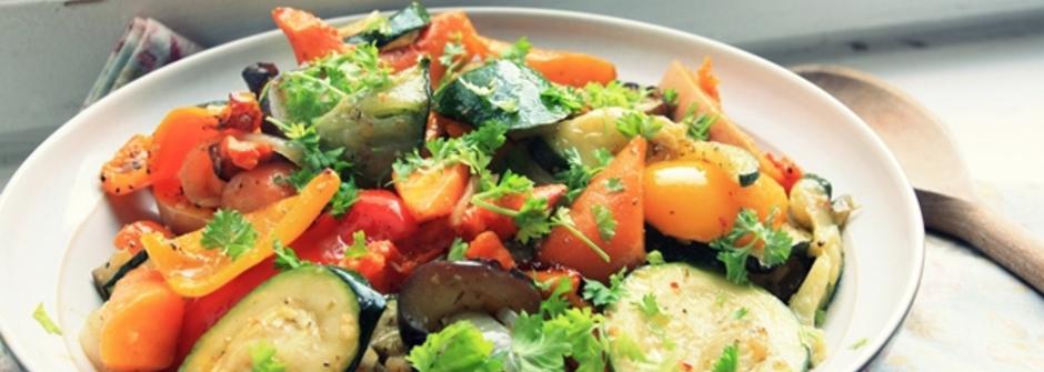 美味料理食譜:夏季綜合烤蔬菜