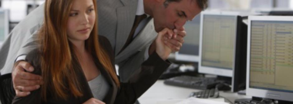 親切是有界限的,遇到職場性騷擾怎麼辦?