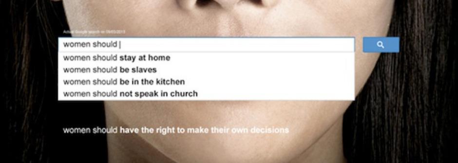 性別歧視存不存在? Google 搜尋引擎告訴你
