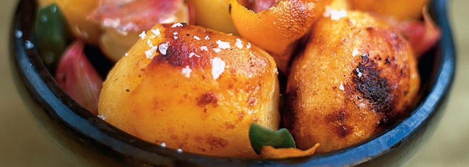 【美味料理食譜】暖心的烤馬鈴薯佐橙皮鼠尾草