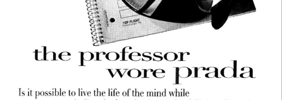 穿著 Prada 的教授:美國學術圈的時尚生死鬥